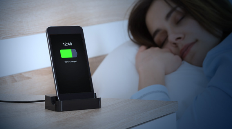 Charging Your phone overnight while you sleep