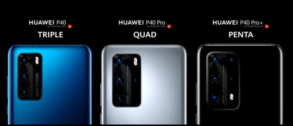 Huawei P40 Series Camera Setup