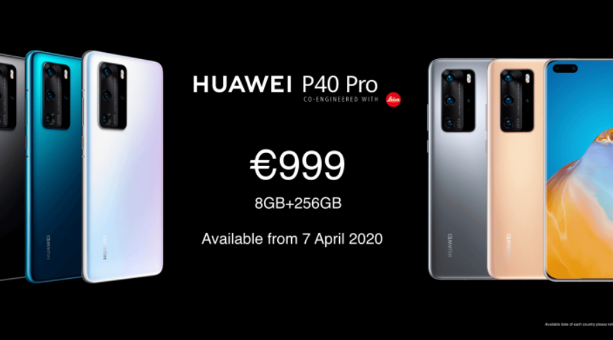 Huawei P40 Pro Price and Release Date