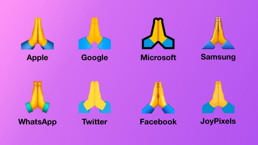 High Five Emoji on Other Phones
