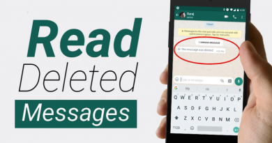 Reading Deleted Whatsapp Messages