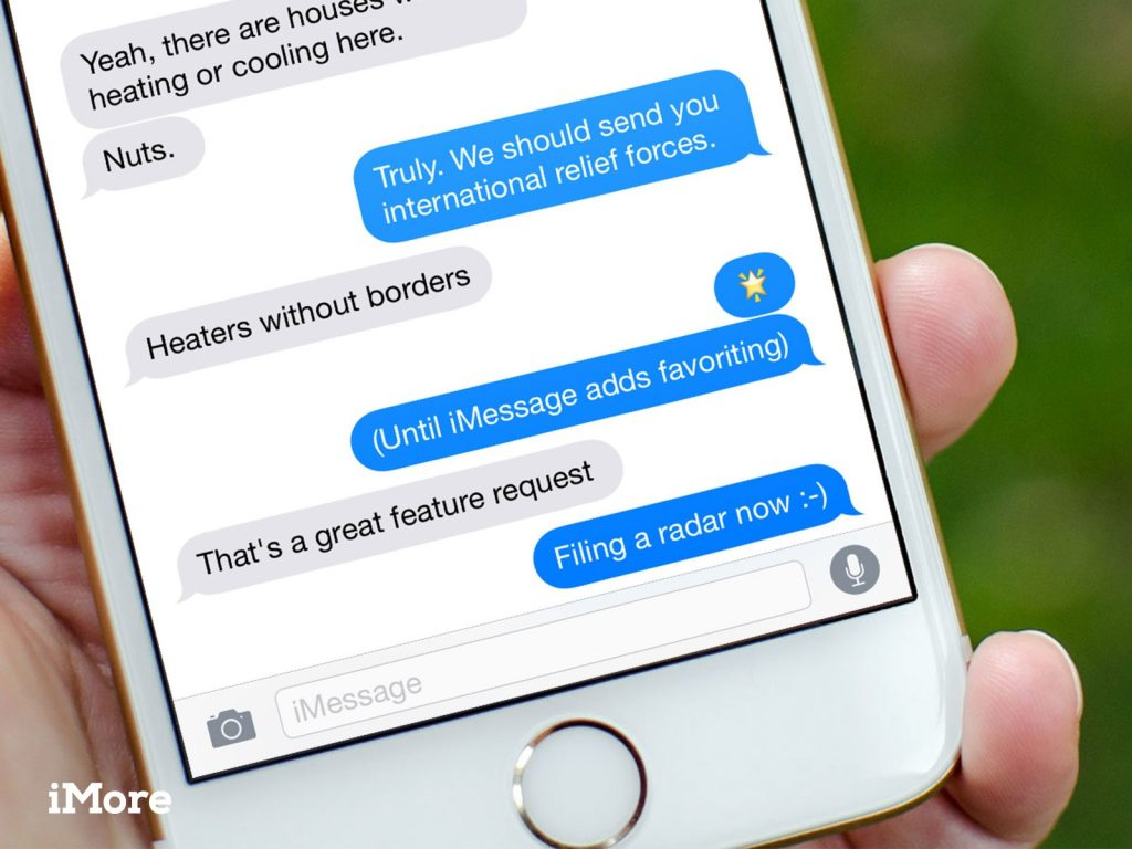 iPhone's iMessage platform