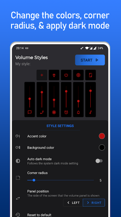 Volume Styles - Customize your Volume Panel