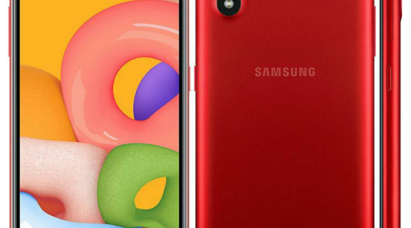 Samsung M01 specifications