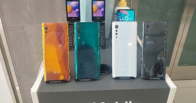 LG Velevt hands on leaked out.
