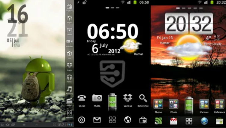 Android Home-screen Customization
