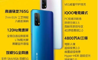 Vivo Z1x 5G launch in China.