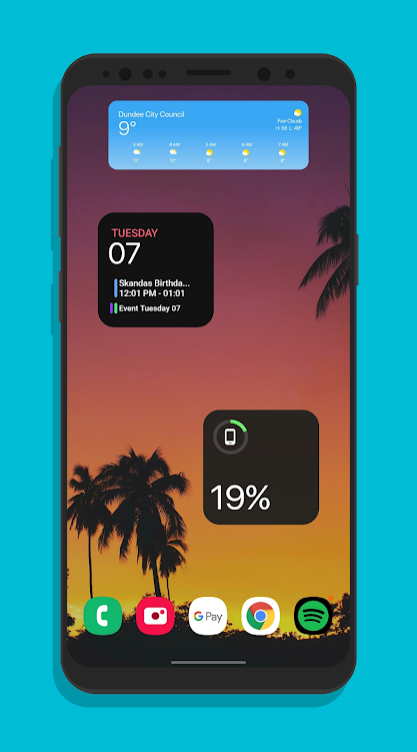 IOS14 Widgets For KWGT
